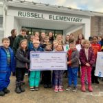 NHEC Foundation Grant Supports Warm Clothes and Winter Fun for Russell Elementary School