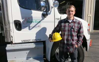 NHEC Awards First Lineworker Scholarship